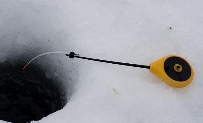 Удочка желтая балалайка