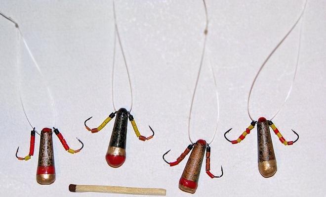 Ловля окуня на балду зимой: устройство снасти