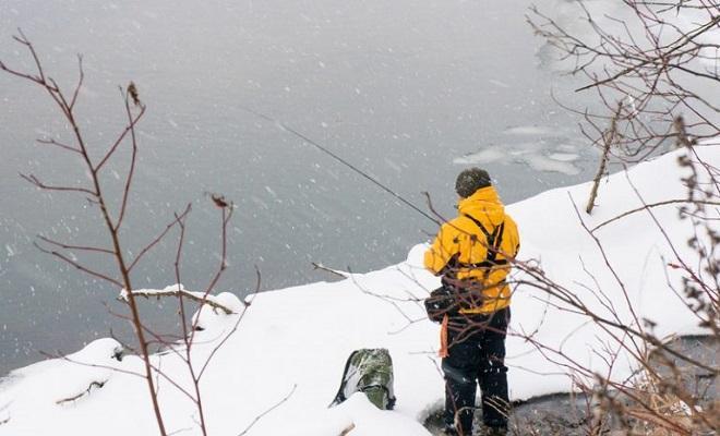 Ловля зимой спиннингом