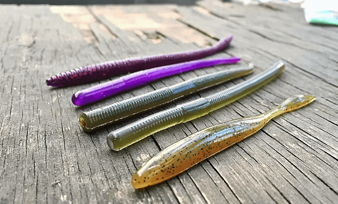 Как выбрить самые уловистые силиконовые приманки для рыбалки на хищную рыбу