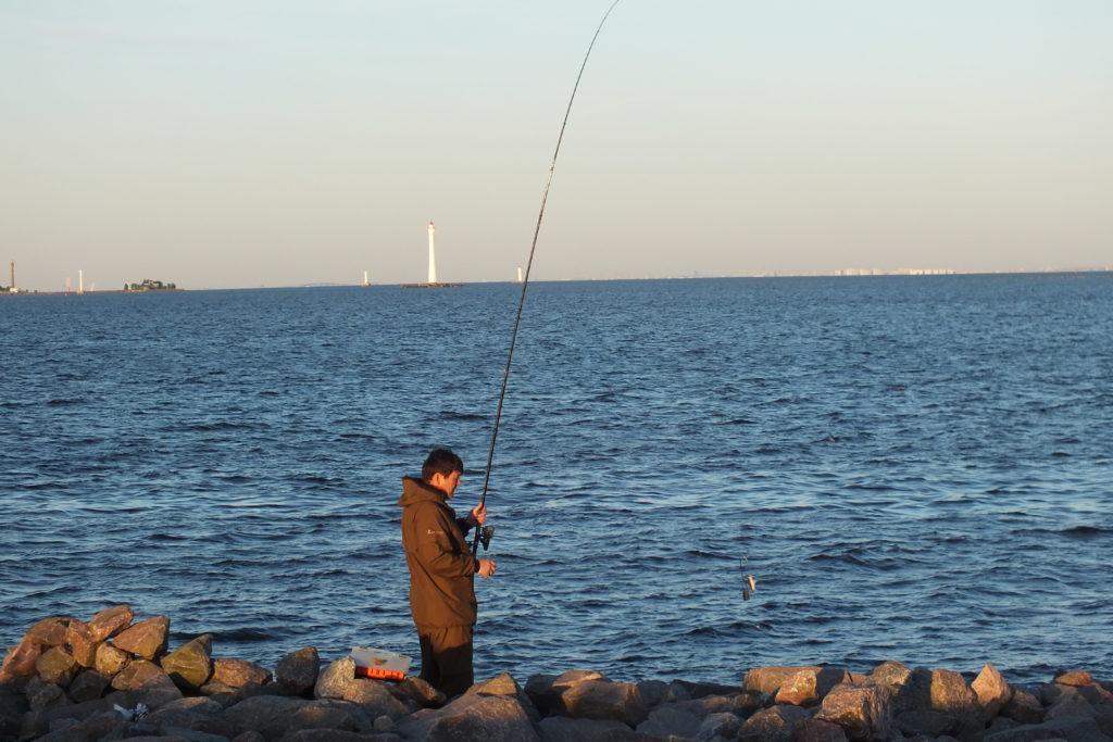 ловля камбалы на спиннинг с берега